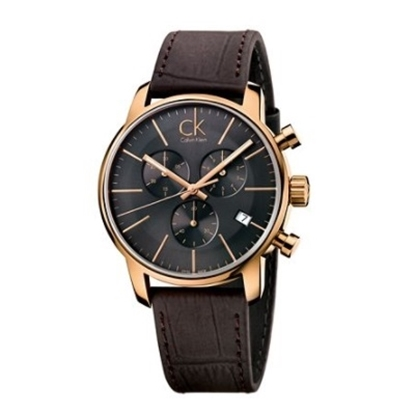 Picture of Calvin Klein Men's City Chrono Brown Leather Watch