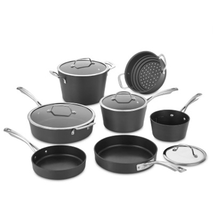 Picture of Cuisinart® Conical Hard Andonized 11-Piece Cookware Set