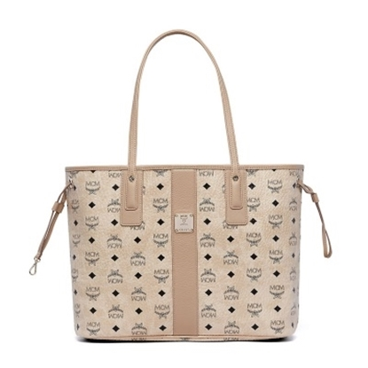 Picture of MCM Liz Medium Shopper - Beige