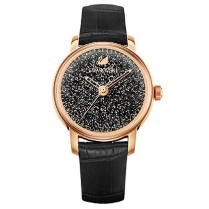 Picture of Swarovski Crystalline Hours Watch - Black/Rose Gold