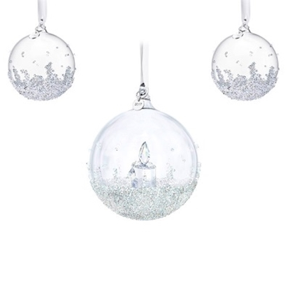 Picture of Swarovski 2017 Annual Edition Christmas Ball Ornament Set