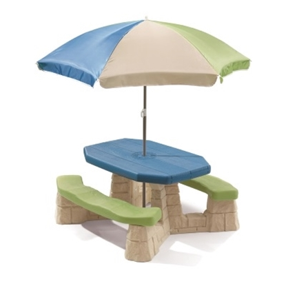 Picture of Step2® Naturally Playful Picnic Table with Umbrella