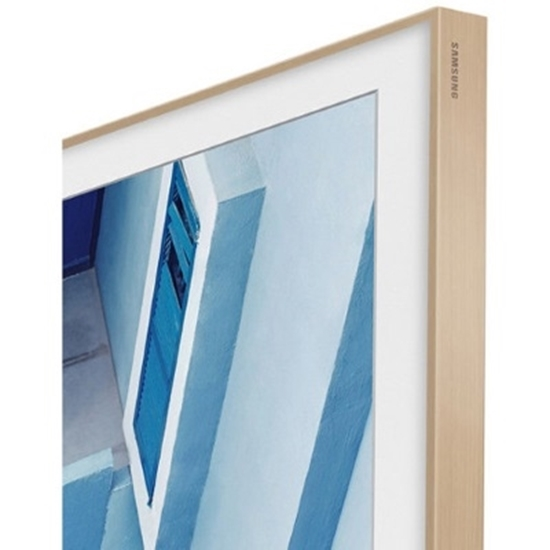 Picture of Samsung 65'' The Frame Customizable Bezel - Beige/Light Wood