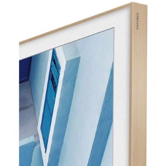 Picture of Samsung 55'' The Frame Customizable Bezel - Beige/Light Wood