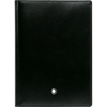 Picture of Montblanc Meisterstück Passport Holder - Black