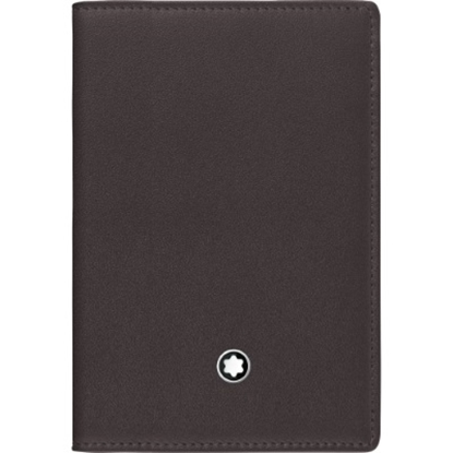 Picture of Montblanc Meisterstück Business Card Holder - Black