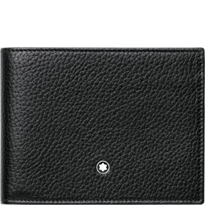 Picture of Montblanc Meisterstück Soft Grain Six-Card Wallet - Black