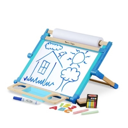 Picture of Melissa & Doug® Double Sided Magnetic Table Top Easel