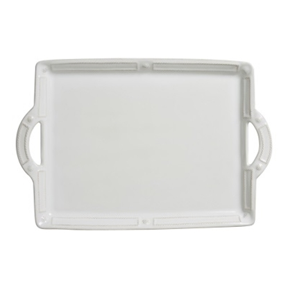 Picture of Juliska Berry & Thread French Panel Whitewash Tray