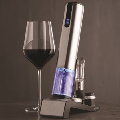 Picture of Wine Enthusiast® Electric Blue 1 Wine Opener & Preserver
