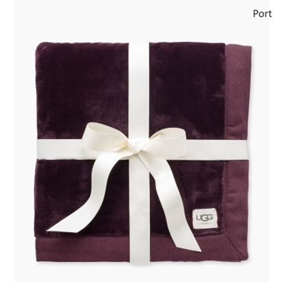 Picture of UGG® Duffield Throw - Port Heather