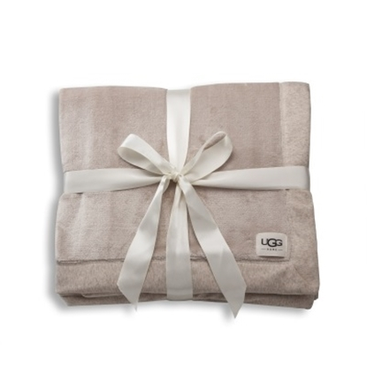 Picture of UGG® Duffield Throw - Oatmeal Heather
