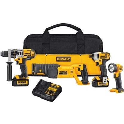 Picture of DeWalt® 20V MAX* Premium 4-Tool Combo Kit