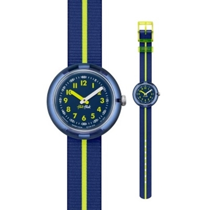 Picture of Flik Flak Yellow Band Watch