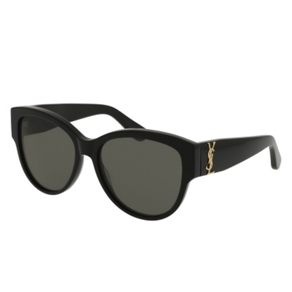 Picture of St. Laurent Ladies' Oversized Sunglasses - Black/Grey