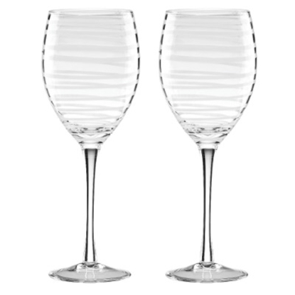 Picture of Kate Spade Charlotte Street White Wine Glasses - Set of 2