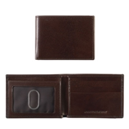 Picture of Johnston & Murphy Super Slim Wallet - Brown