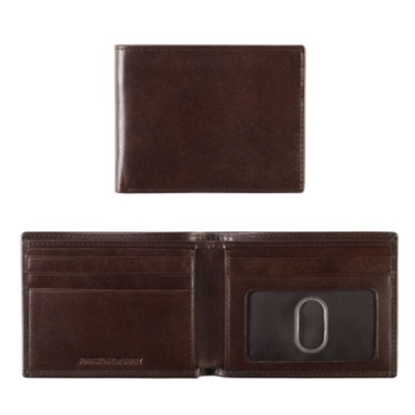 Picture of Johnston & Murphy Slimfold Wallet - Brown