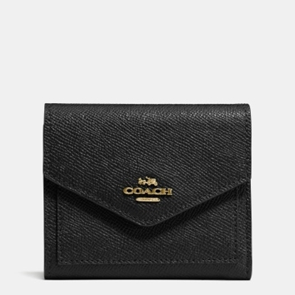 Picture of Coach Small Wallet - Light Gold/Black
