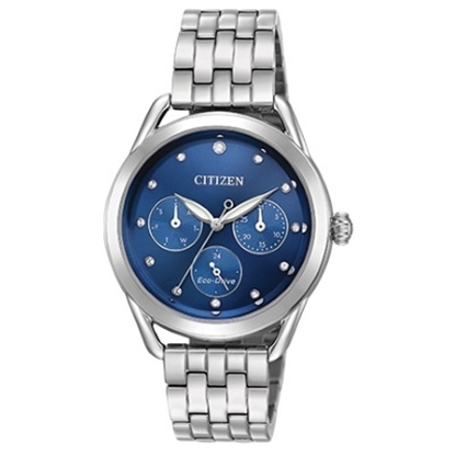 Picture of Citizen Eco-Drive LTR Watch with Blue Dial