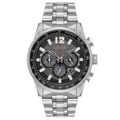Picture of Citizen Eco-Drive Nighthawk Stainless Steel Watch