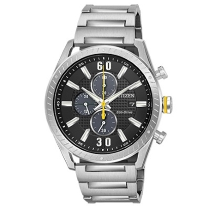 Picture of Citizen Eco-Drive CTO Stainless Steel Watch