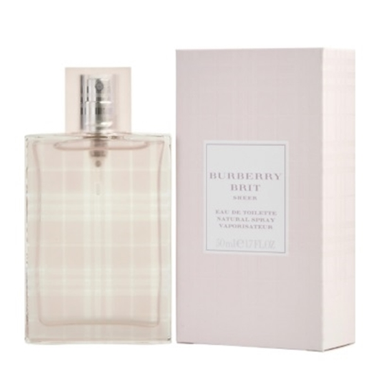 83dcfdc5a692 Picture of Burberry Brit Sheer Women s EDT - 1.7 oz. Burberry Brit Sheer  Women s eau de toilette ...