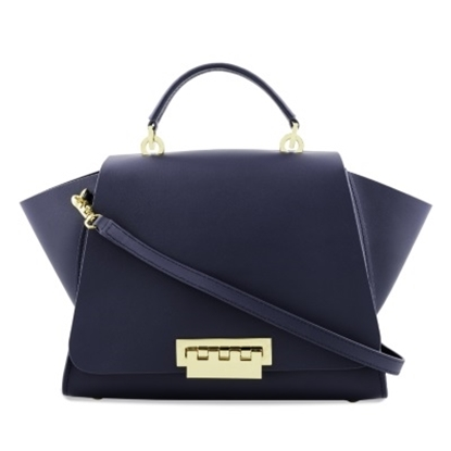 Picture of Zac Posen Eartha Iconic Soft Top Handle - Navy