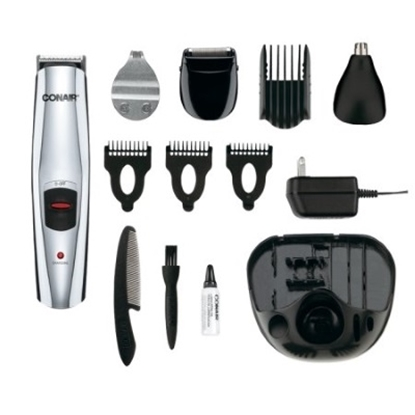 Picture of Conair® 13-Piece Rechargable Multiuse Face Trimmer
