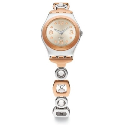 Picture of Swatch® ''Lady Passion'' Two-Tone Watch