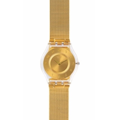Picture of Swatch® ''Generosity'' Gold-Tone Watch