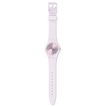 Picture of Swatch® ''Guimauve'' Watch with Light Pink Silicone Strap