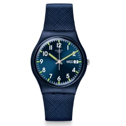 Picture of Swatch® ''Sir Blue'' Silicone Watch
