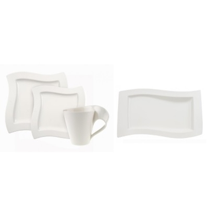 Picture of Villeroy & Boch New Wave Dinnerware for 8 with Serving Dishes