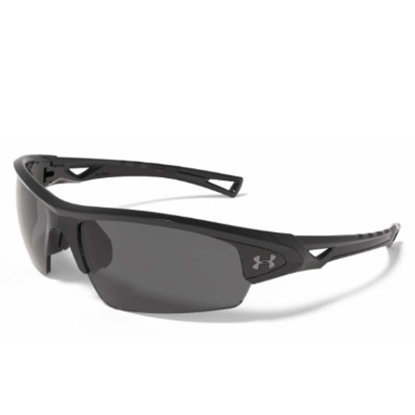 Picture of Under Armour Octane Polarized Sunglasses - Shiny Black/Gray