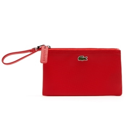 Picture of Lacoste PVC Concept Wristlet - Red