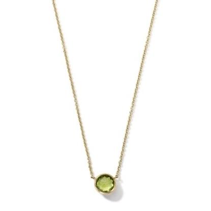 Picture of Ippolita 18K Lollipop Mini Necklace - Peridot