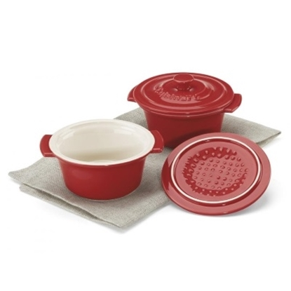 Picture of Cuisinart® Chef's Classic 10-oz. Mini Cocottes - Red