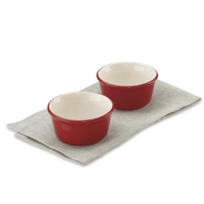 Picture of Cuisinart® Chef's Classic 9-oz. Ceramic Ramekins - Red