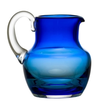 Picture of Baccarat Mosaique Pitcher - Blue
