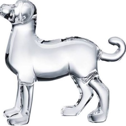 Picture of Baccarat Zodiac Dog - Clear