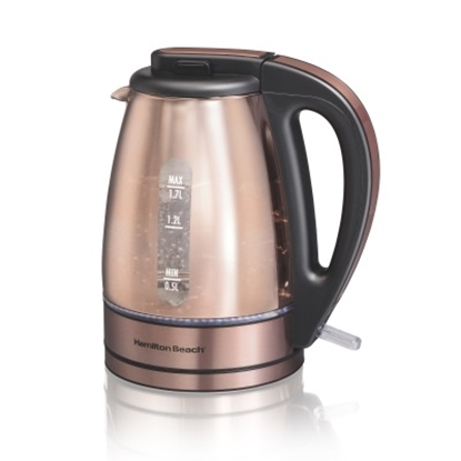 Picture of Hamilton Beach® Glass Kettle - Copper