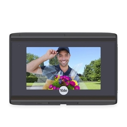 Picture of Yale® Look Wi-Fi® Door Viewer - Black
