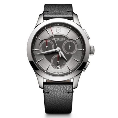 Picture of Victorinox Swiss Army Alliance Chrono with Black Leather Strap