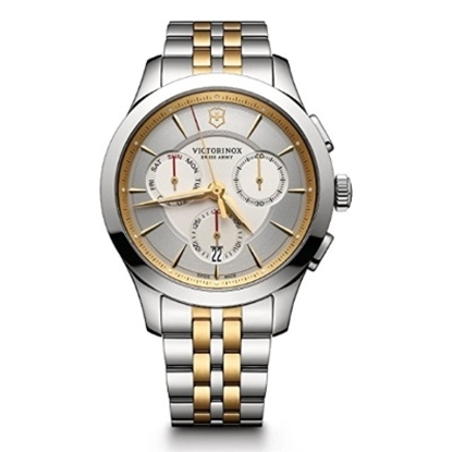 Picture of Victorinox Swiss Army Alliance Two-Tone Chrono w/ Silver Dial