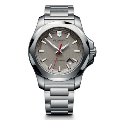 Picture of Victorinox Swiss Army INOX Stainless Steel Watch w/ Grey Dial