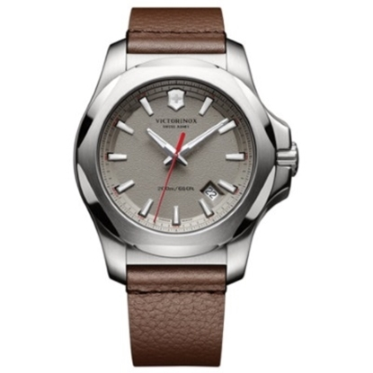 Picture of Victorinox Swiss Army INOX Watch with Brown Leather Strap