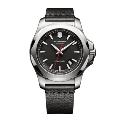 Picture of Victorinox Swiss Army INOX Watch with Black Leather Strap