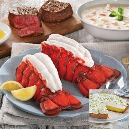 Picture of Lobster Ship to Shore Dinner for 6 with Key Lime Pie