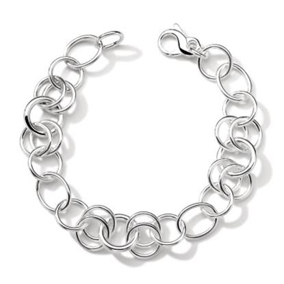 Picture of Ippolita 925 Round Link Charm Bracelet
